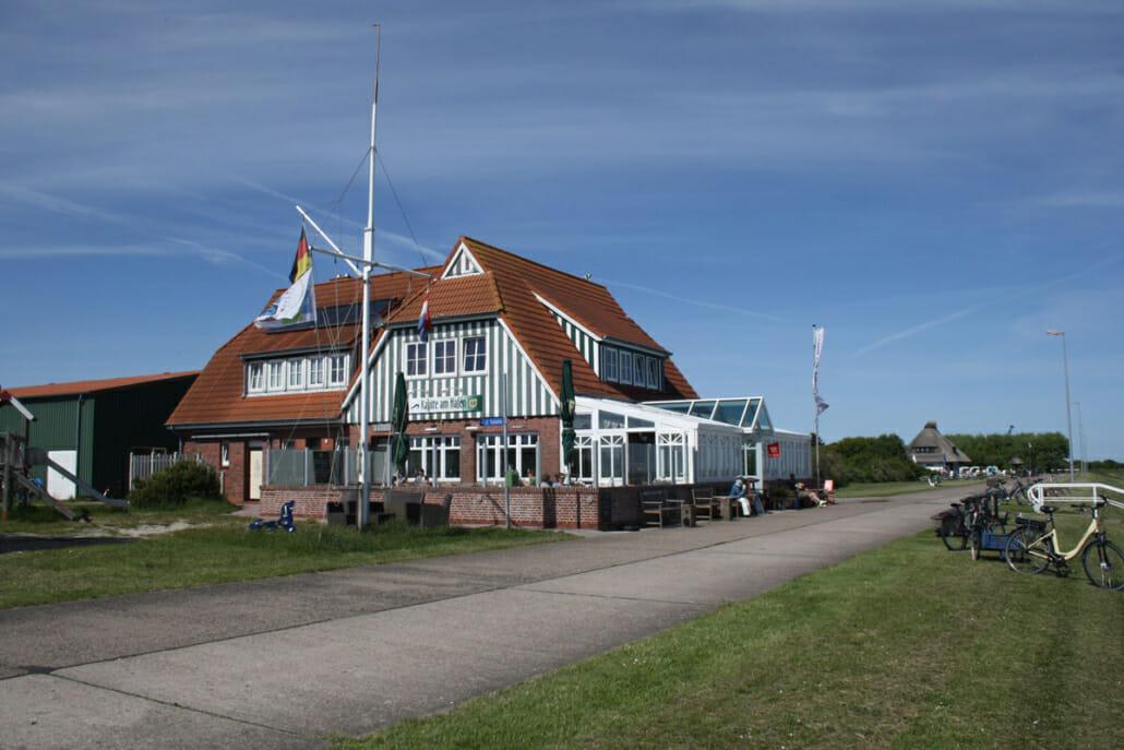 Restaurant am Hafen von Langeoog